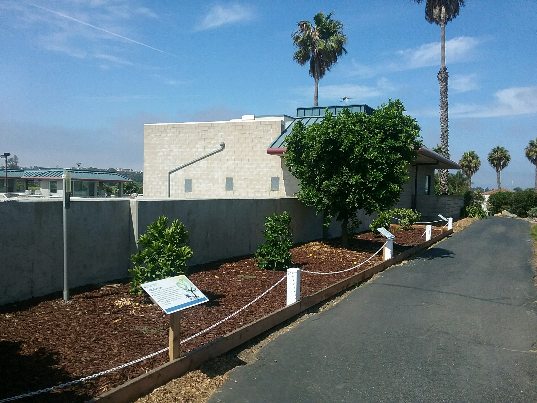 Goleta Sanitary District Demonstration Garden for Resource Recovery