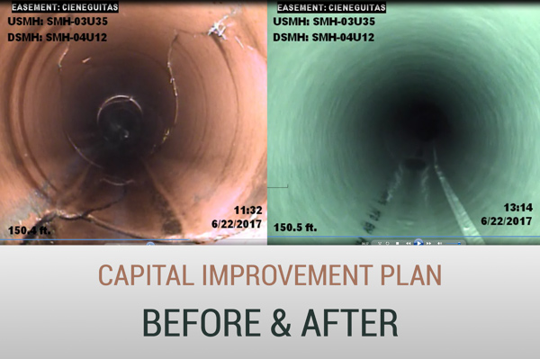 Pipes Before & After Image